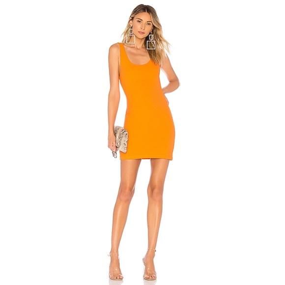 superdown Dresses & Skirts - Superdown Kourtney Backless Tank Dress Orange XS